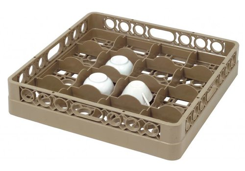 Bartscher Washing basket 16 compartments | 50 x 50 cm
