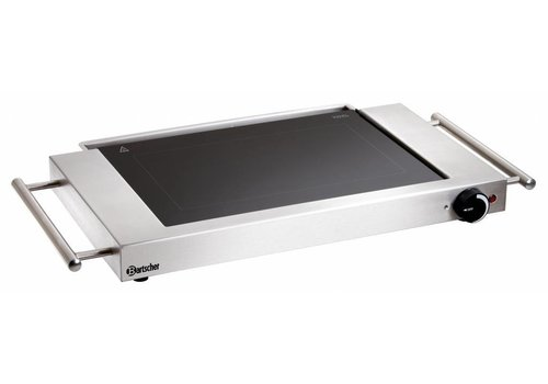 Bartscher Electric Catering Grillplate stainless steel | 38.5x28.5cm