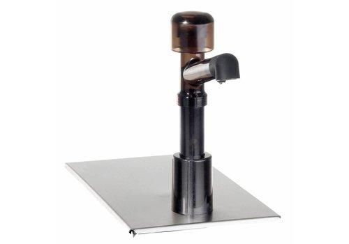 Bartscher Pumpstation für 1/4GN mit Deckel