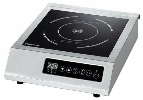 Bartscher Recessed stainless steel Induction Cooker | 3000Watt