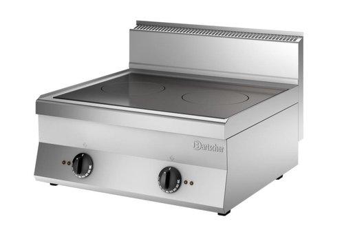 Bartscher Professional Hospitality Induction Cooker 10000Watt | 2 Zones 22cmØ