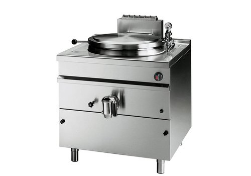 Bartscher Gas boiling kettle, indirect heating, 150 Litres