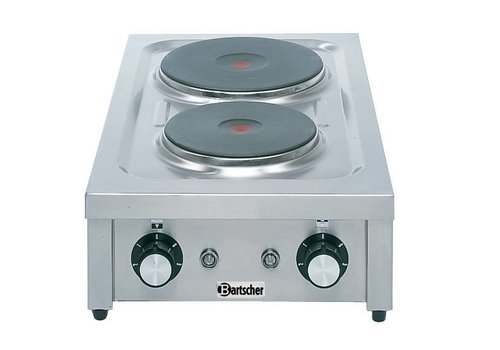 Bartscher Cooker with two different hobs | 4.6 kW