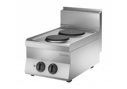 Bartscher Kooktoestel met 2 elektrische kookplaten