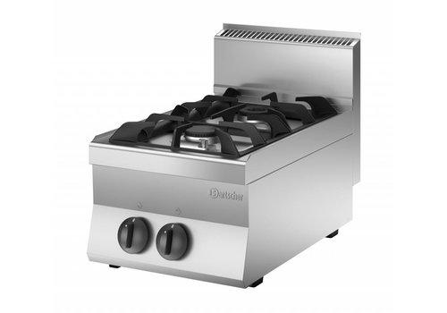 Bartscher Tabletop stove | 2-burner