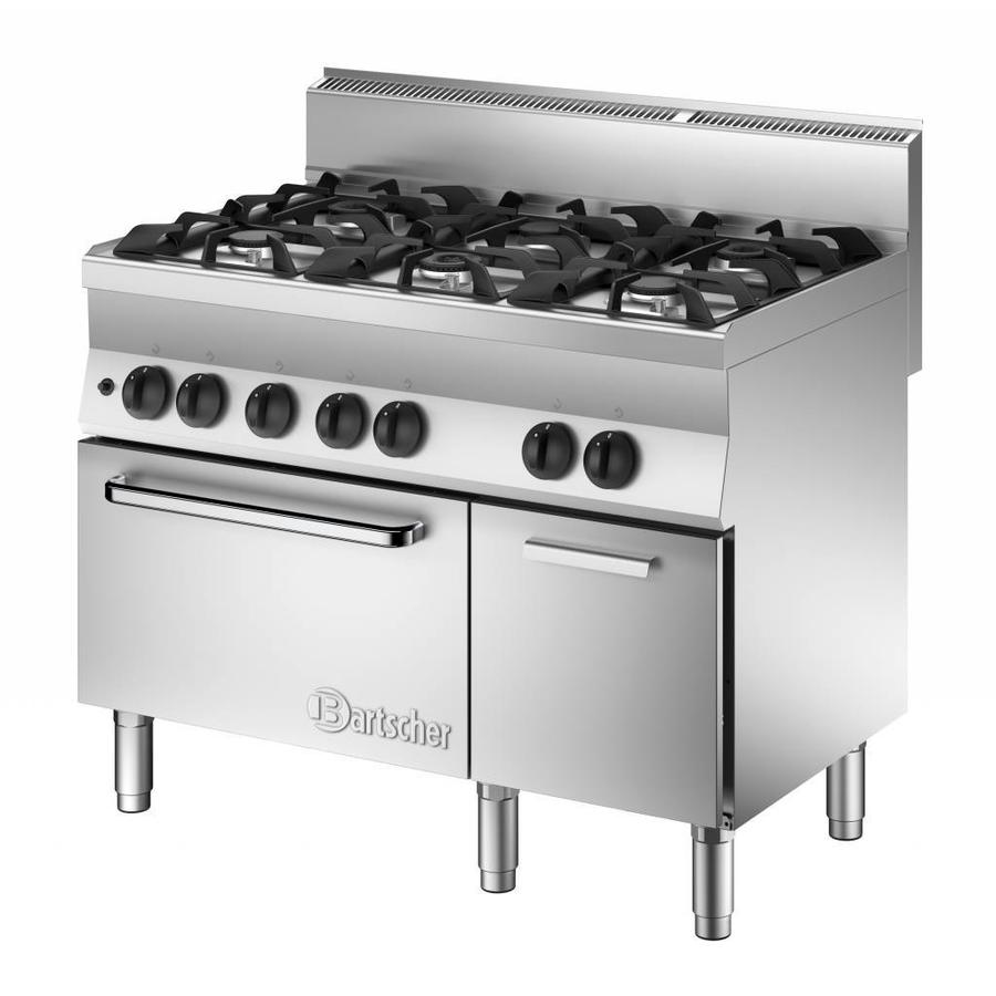 Buy Gas Stove Gas Oven And Base Cupboard 6 Burner Online