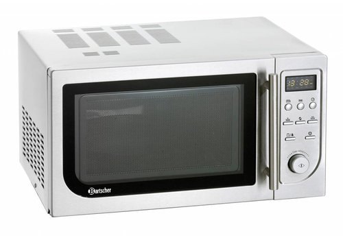 Bartscher Microwave with convection oven and grill 900 watts