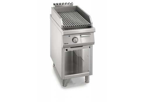 Bartscher Gas lava rock grill with open base frame Series 900