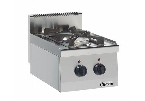 Bartscher Horeca 9,5kW Kocher   2 Brenner