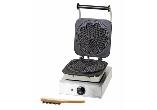 Bartscher Waffle maker with baking plate heart shaped