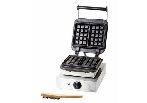 Bartscher Waffle iron machine Waffles 10,5 x 16,5 cm