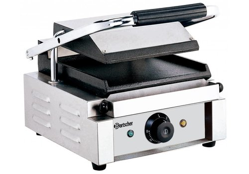 Bartscher Electric contact grill Smooth & Smooth 29x37x (h) 20 cm