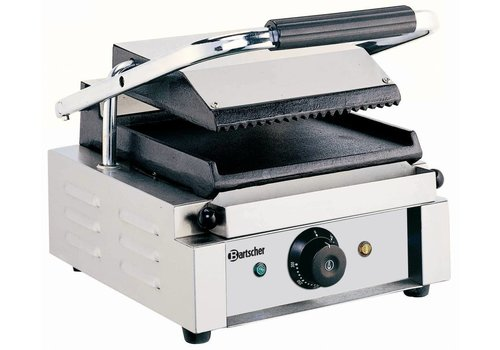 Bartscher Electric contact grill Ribbed & Smooth 29x37x (h) 20 cm