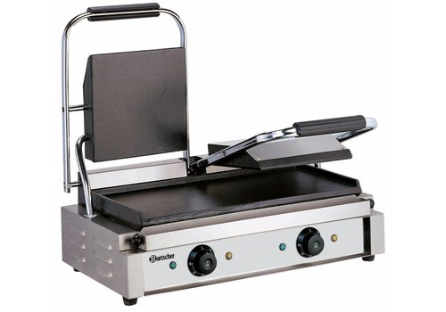 Bartscher Double Contact Grill | Grill plate Happy