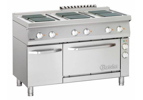 Bartscher Professioneel fornuis met oven en onderbouwkast