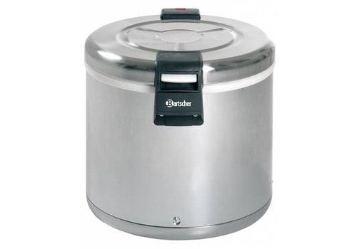 Bartscher Reis-Heizung Edelstahl 110 Watt | 8,5 kg Reis