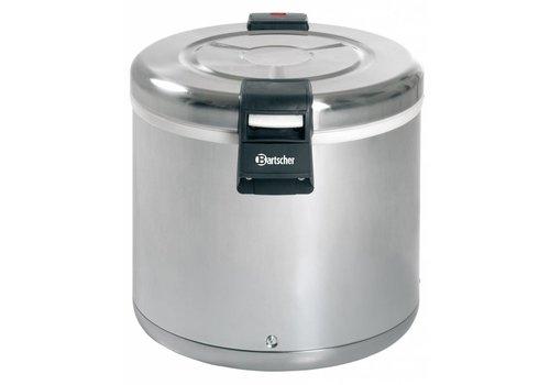 Bartscher Rice Heater Stainless Steel 110 Watt | 8.5 KG Rice