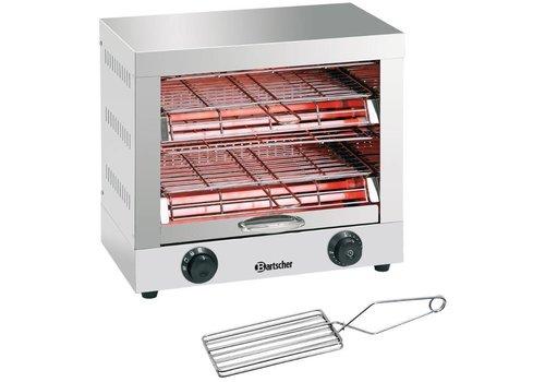 Bartscher Double toaster gratineeroven
