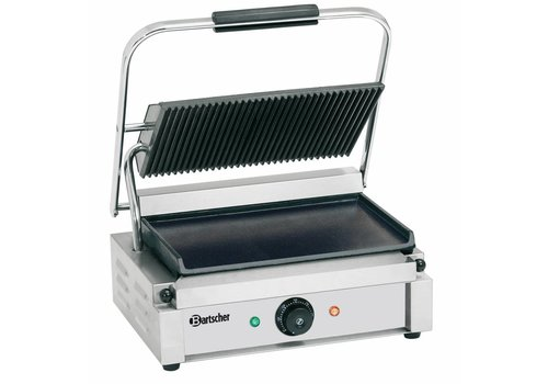 Bartscher Electric contact grill Ribbed & Smooth 41x37x (h) 20 cm | MOST SOLD!!!