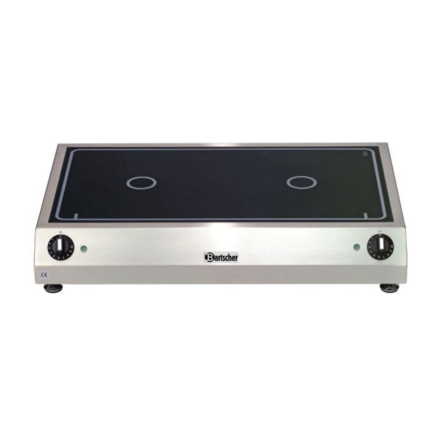 Ceramic electric cooker | 2 zones