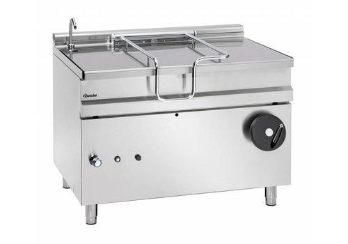 Bartscher Gas tilting frying pan m | 120 liters 1200 x D 900 x H 900 mm