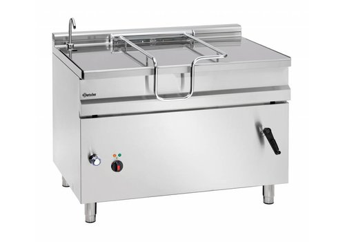 Bartscher Electric tilting frying pan 120 liters 1200 x D 900 x H 900 mm