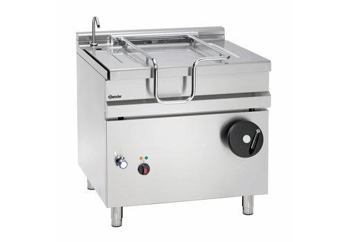 Bartscher Electric tilting frying pan 80 liters | 900 x D 900 x H 900 mm