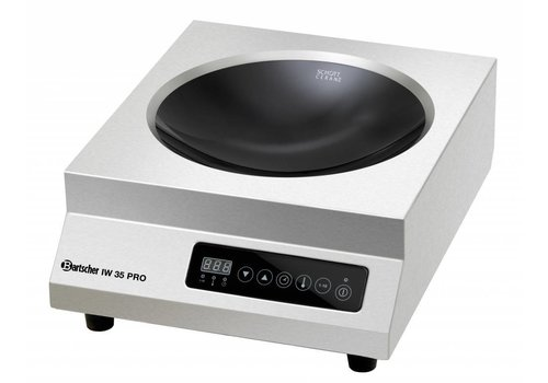 Bartscher Round Hospitality Induction Wok 3500Watt | Zone 30cmØ