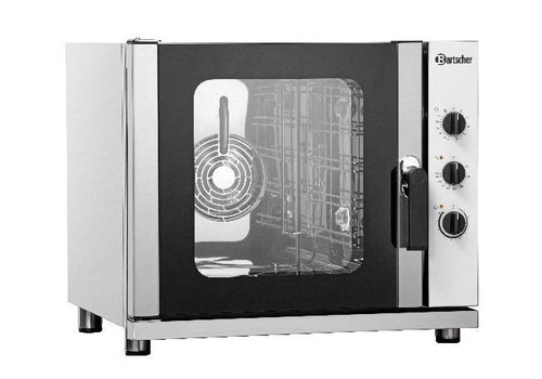 Bartscher Hot air oven with moisture injection (h) 63.5x70x76 cm