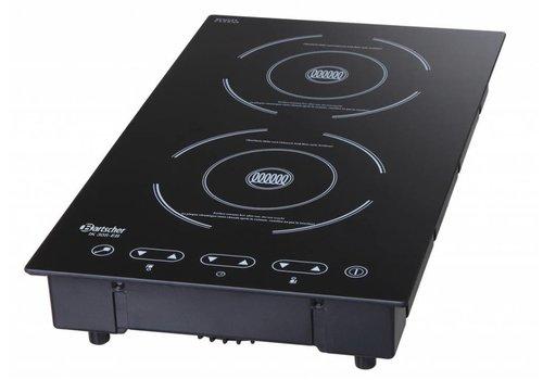 Bartscher Induction stove 2 Zones | 3000Watt