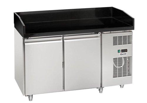 Bartscher Kühltisch Umluft, B1400, 2T, M