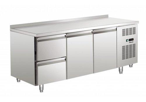 Bartscher Cool Workbench with stainless steel weir   179 x 70 x 85 cm