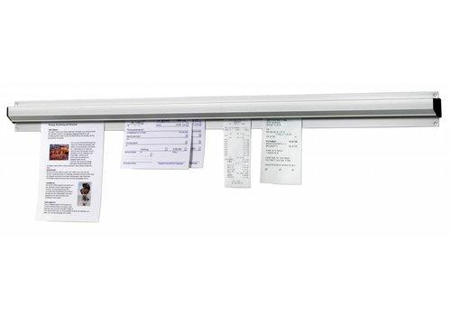 Bartscher Vouchers Holder aluminum | 91 cm