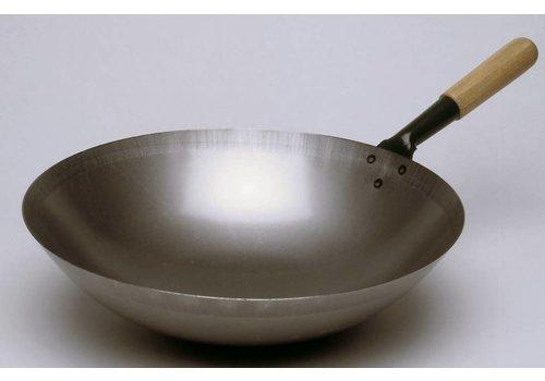 Bartscher Steel Round Bottom Wok | 36cmØ