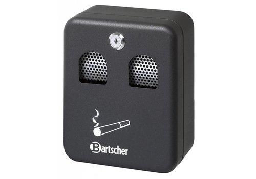 Bartscher Horeca Wandaschenbecher Schwarz 1 Liter