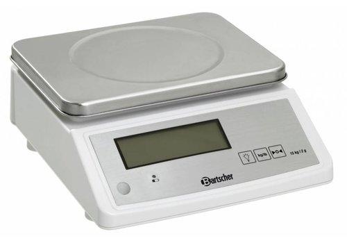 Bartscher Horeca Voedselweegschaal 15 kg.