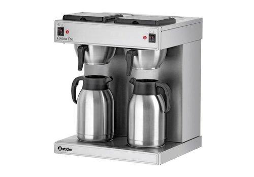 Bartscher Doppel Koffiezetter 2 x 2 Liter