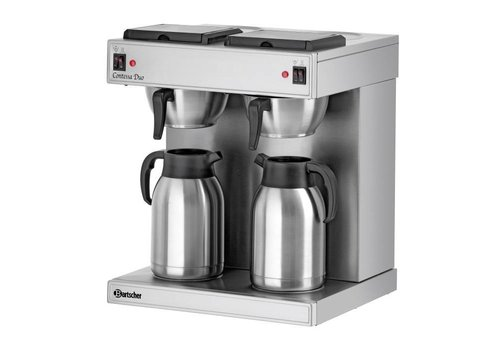 Bartscher Dubbele Koffiezetter 2 x 2 Liter