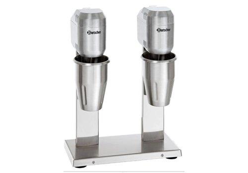 Bartscher Doppel-Milchshaker / Doppel-Spilmixer - 2 x 1 Liter