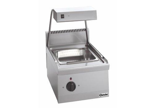 Bartscher Frites Warmhoudapparaat met Warmtebrug