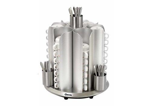 Bartscher Tassenwärmer für 48 Tassen