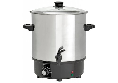 Bartscher Hot drinks kettle 25 liters stainless steel