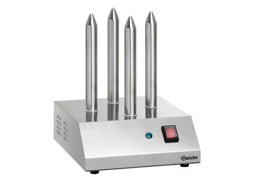 Bartscher Hotdog-spies toaster | 4 Toast Rods