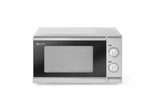 Hendi Microwave with Grill Stainless steel