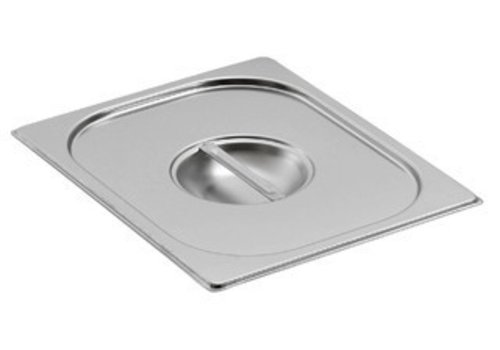 Saro Stainless steel Gastronorm lids | GN 1/4