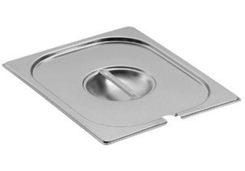 Saro Gastronorm- Deckel Löffel Aussparung | GN 1/3