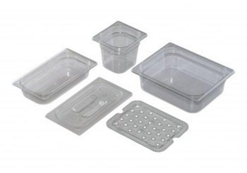 Saro GN 1/6, D 65mm polycarbonate, transparent