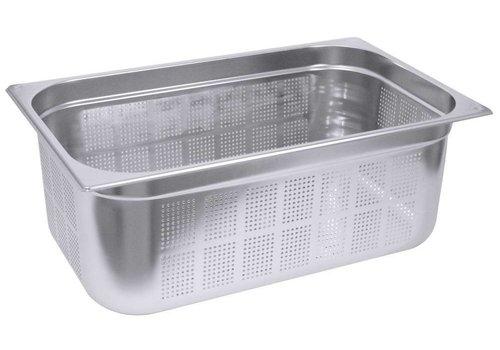 Saro Gastronorm-Behälter aus rostfreiem Stahl perfor. GN 1/3 | 2 Jahre Garantie