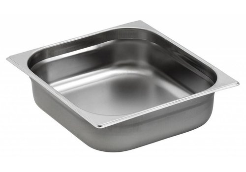 Saro Gastronorm Pans Stainless Steel GN 2/3 | 2 Year Warranty
