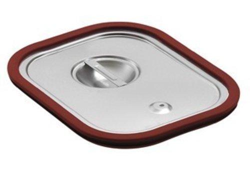 Saro Gastronorm deksel met Rubber afdichting | GN 1/3
